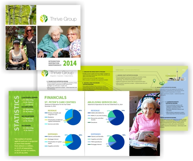 Small portion of a 24 page inaugural booklet and annual report